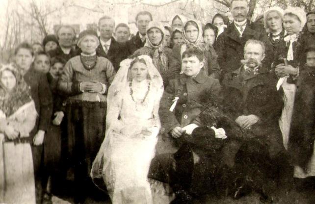 ślub brata mojej prababci_1917 rok