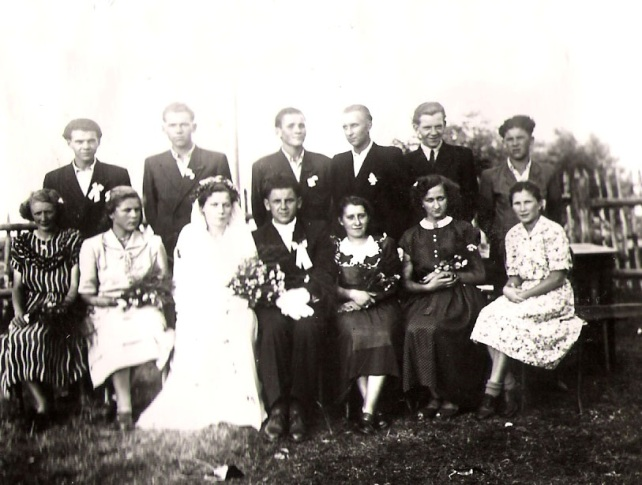 ślub moich dziadków_1953 rok