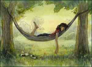 girl,painting,relax,illustration,drawing,nature-7df2adef2f2d23f24102b63bb5eef102_h