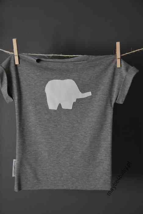 koszulka ze sloniem