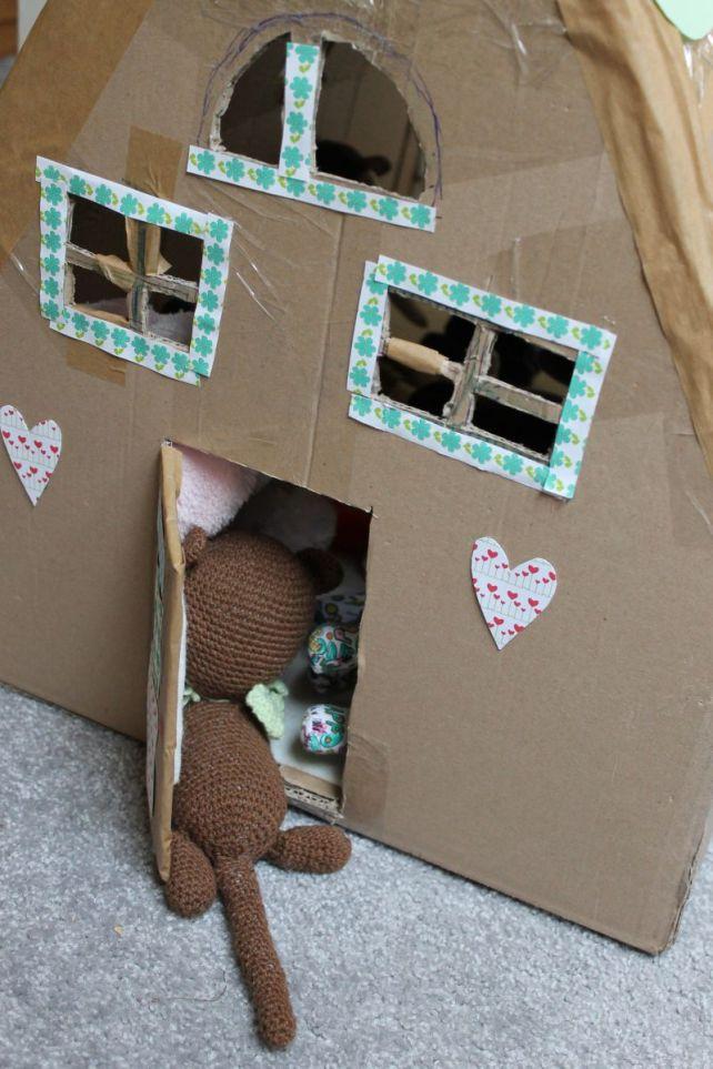 domek z kotkiem